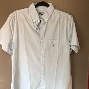 Express Men's Short Sleeve Button Up